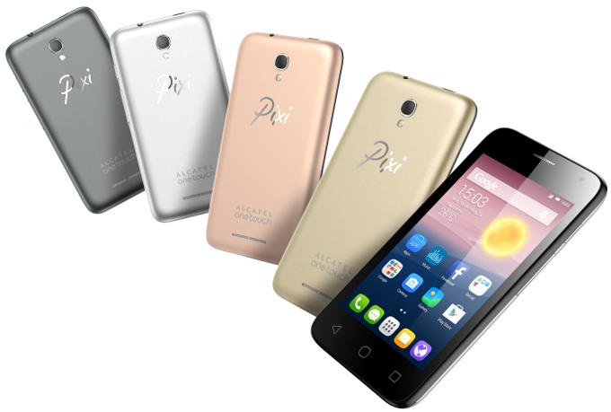 Смартфон Alcatel OneTouch Pixi First получил лишь 512 МБ оперативной памяти