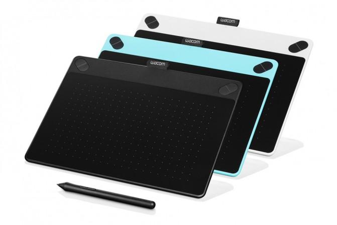 Новые планшеты Wacom Intuos отличаются лишь комплектным ПО
