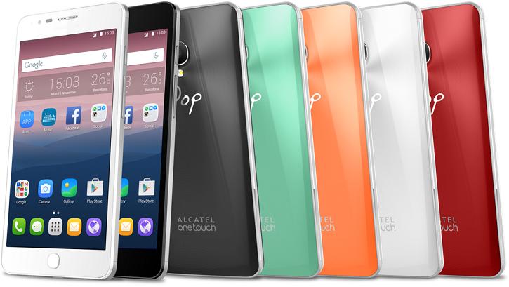 Смартфоны Alcatel Pop Up и Pop Star получили множество вариантов оформления задней крышки