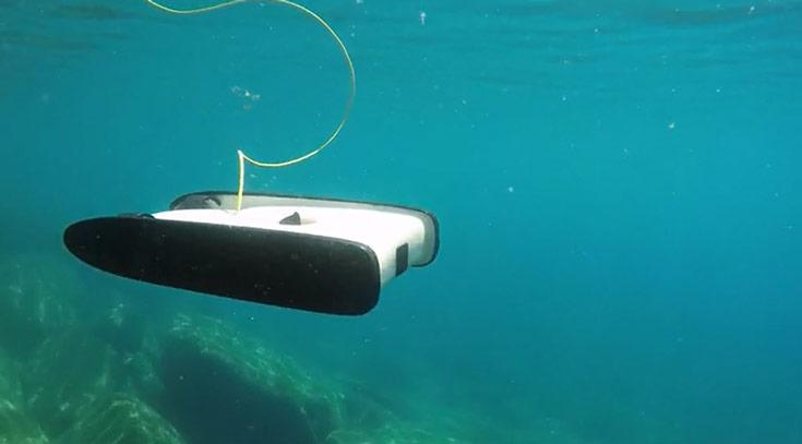 Сумма, собранная на выпуск подводного дрона OpenROV Trident десятикратно превышает первоначальную цель