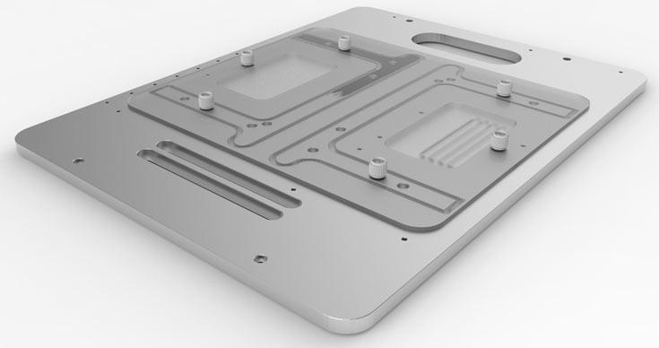 Открытое компьютерное шасси Open Benchtable весит 2,5 кг