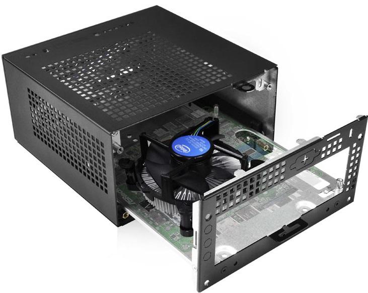 ASRock DeskMini получил хорошие возможности расширения при корпусе объемом менее двух литров