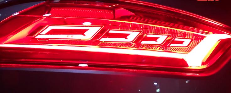 Audi выпустит на дороги автомобиль с задними фонарями OLED уже в нынешнем году