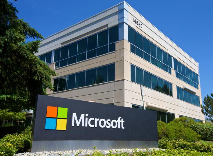Доход Microsoft в минувшем квартале достиг 22,1 млрд долларов