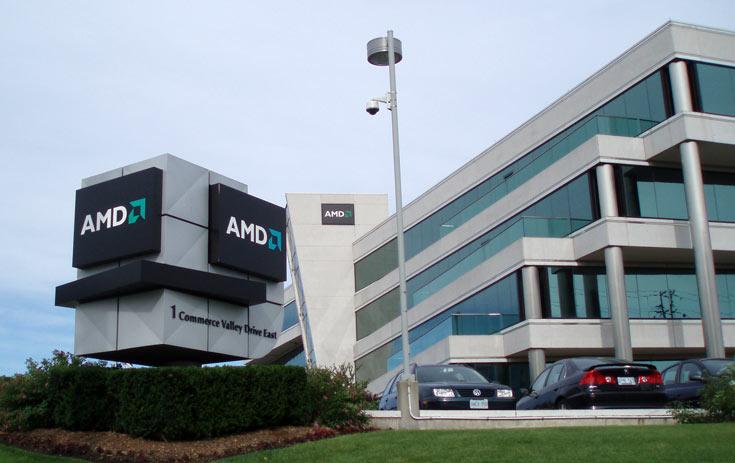 AMD отчиталась за четвертый квартал 2016 года и год в целом