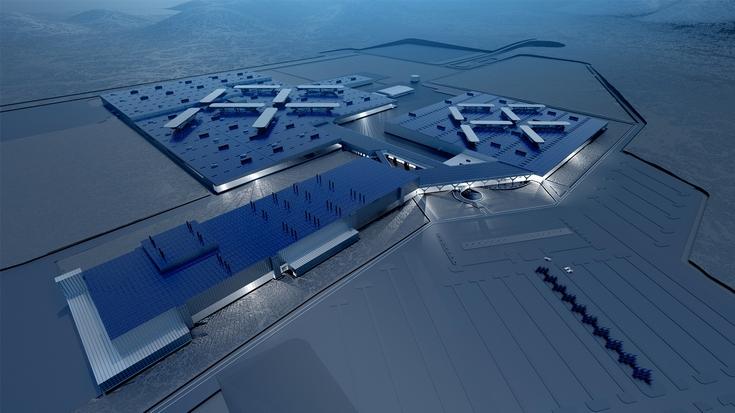 Faraday Future за два года построит в Неваде завод стоимостью 1 млрд долларов, где будут создавать электромобили компании