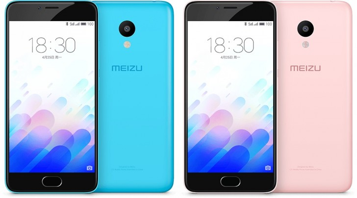 Смартфон Meizu m3 наделили SoC MediaTek MT6750
