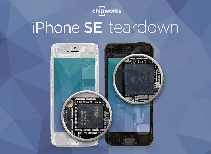 В смартфоне Apple iPhone SE используется однокристальная система A9 производства TSMC