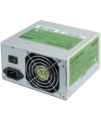 Производитель предоставляет на Chieftec PSF-400B два года гарантии