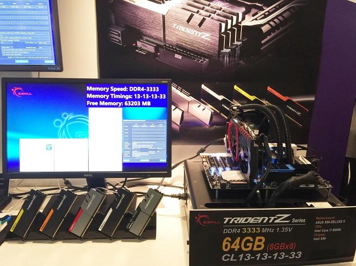 Модули G.Skill DDR4-3333 с пониженными таймингами дебютировали в семействе Trident Z