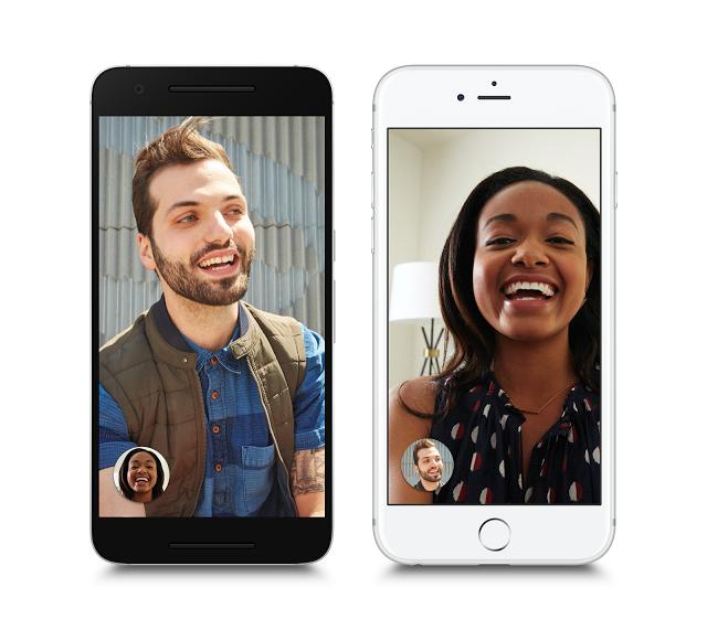 Создатели Google запустили пообразу иподобию видеомессенджера Facetime