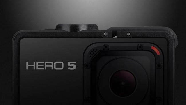Экшн-камера GoPro Hero5 получит модуль GPS, сенсорный дисплей и новое меню