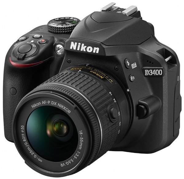 Nikon представила камеру D3400