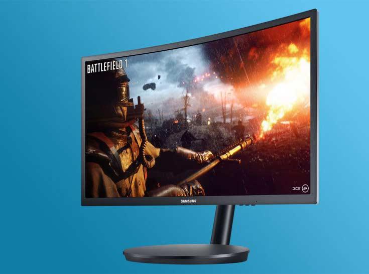 Самсунг выпустит самый изогнутый вмире игровой монитор