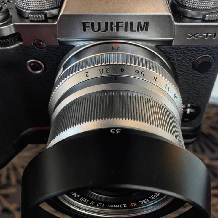 Анонс объектива Fujifilm XF23mmF2 R WR можно ожидать в сентябре на выставке Photokina