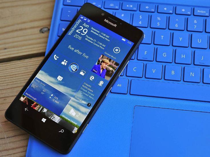 Anniversary Update для Windows 10 Mobile доступен для скачивания