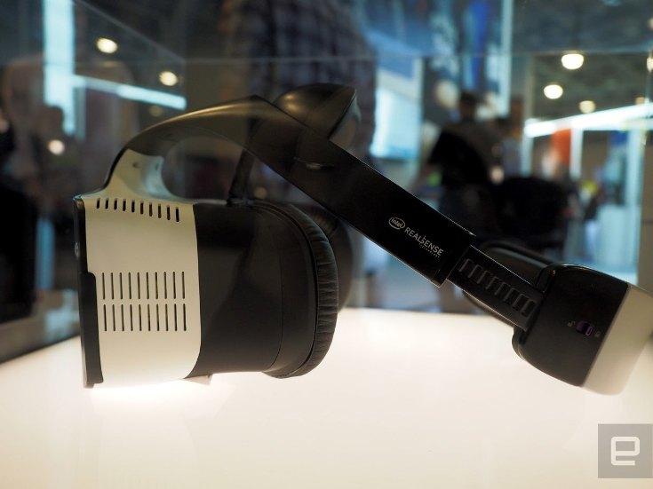 Intel показала фирменный VR-шлем Project Alloy
