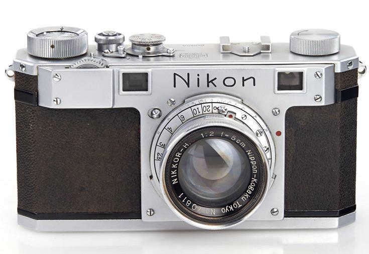Старейшая уцелевшая камера Nikon продана на аукционе за 384000 евро