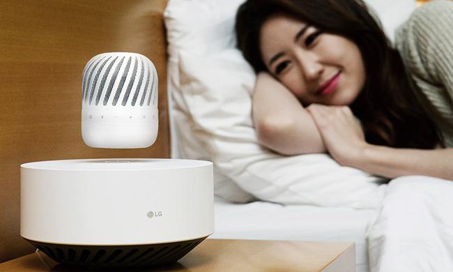 LG обещает представить на CES 2017 левитирующую акустическую систему PJ9
