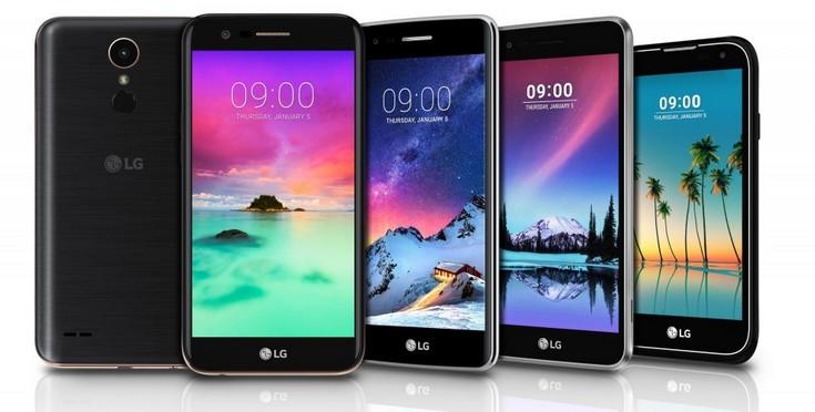 LG раскрыла подробности о новых бюджетных смартфонах
