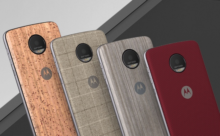 Для смартфонов Moto Z может появиться модуль с экраном E Ink, модуль с модемом 5G и даже модуль-радионяня