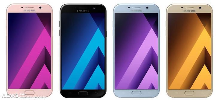 Смартфоны Samsung Galaxy A третьего поколения будут доступны в четырёх цветовых вариантах