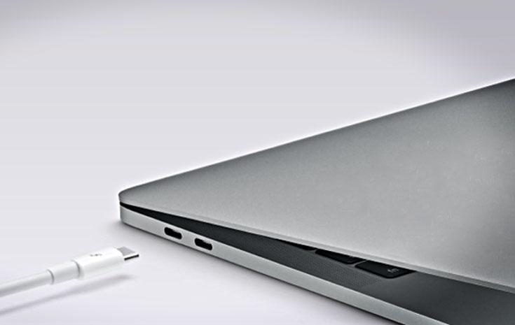 У ноутбуков Apple MacBook Pro нет других портов, кроме USB-C
