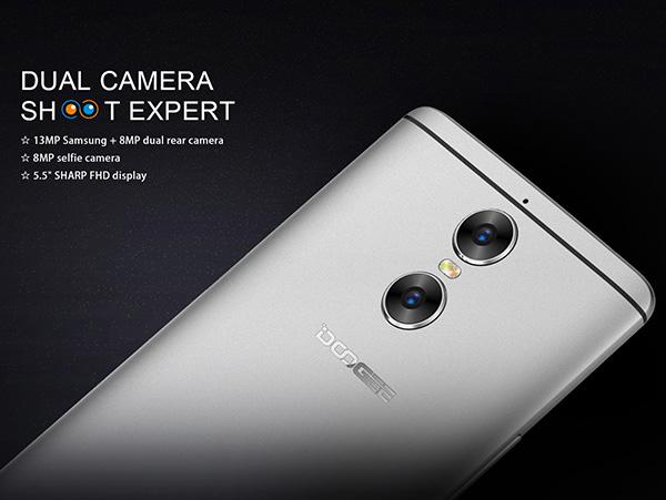 Doogee Shoot 1 — еще один смартфон из Поднебесной со сдвоенной камерой