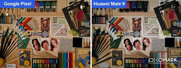 Смартфон Huawei Mate 9 находится в списке лидеров по качеству фото, согласно мнению DxOMark