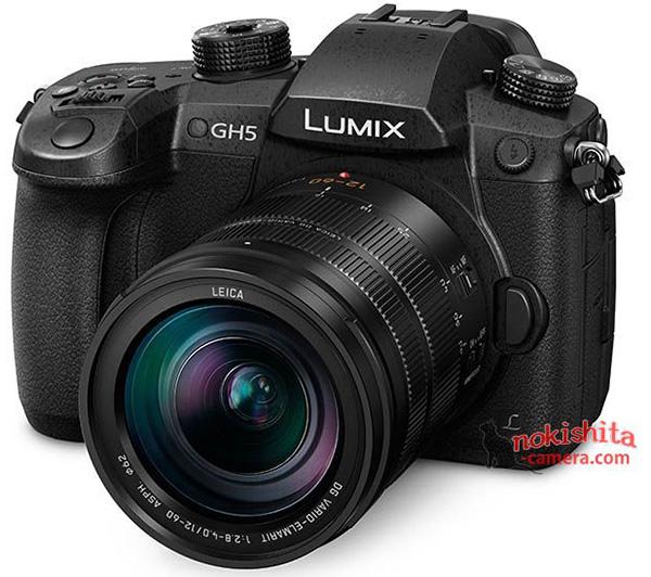 Опубликованы новые изображения беззеркальной фотокамеры Panasonic Lumix DMC-GH5