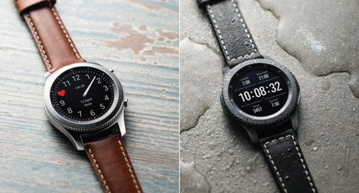 Samsung представила множество новых ремешков для умных часов Gear S3