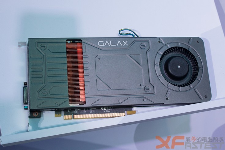 Galax приготовила однослотовую GeForce GTX 1070
