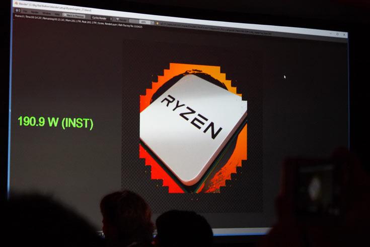 Фотогалерея дня: сравнение производительности и энергопотребления процессоров AMD Ryzen и Intel Core i7-6900K