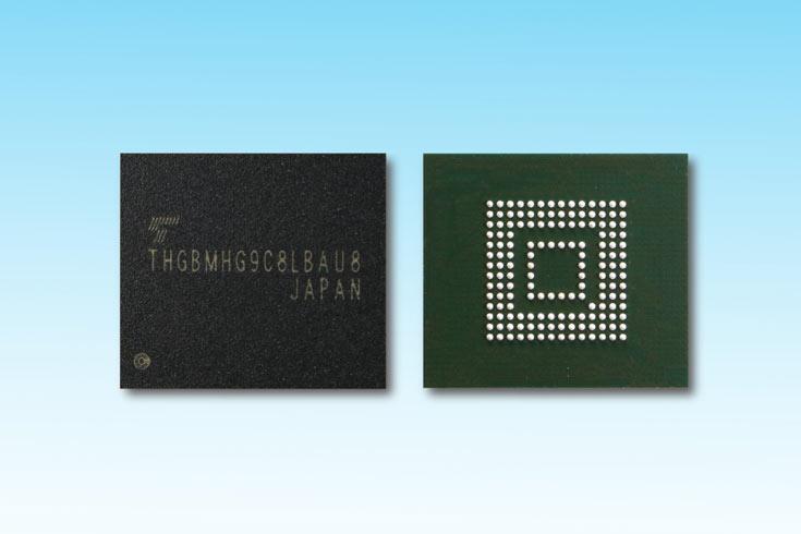 Toshiba расширяет ассортимент модулей флэш-памяти, соответствующих спецификации eMMC 5.1