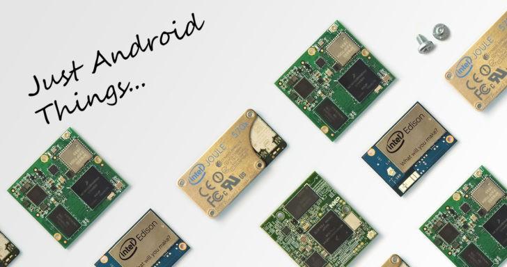 Google представилОС андроид Things для устройств интернета вещей