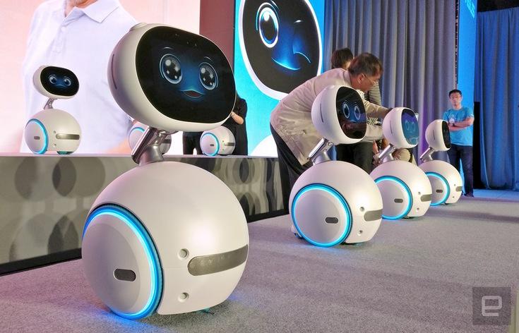 Домашнего робота Asus Zenbo можно будет купить уже 1 января