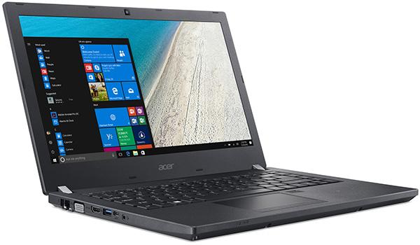 Acer TravelMate P4 — недорогие бизнес-ноутбуки на базе процессоров Intel Skylake