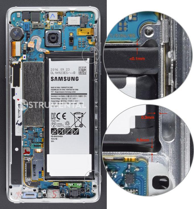 Специалисты Instrumental назвали причину возгорания смартфонов Samsung Galaxy Note7