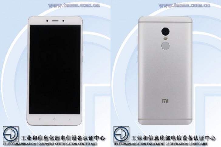 Предварительные спецификации Xiaomi Redmi Note 4X подтверждены TENAA