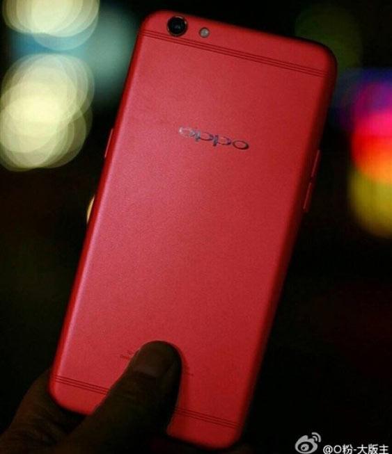 Фото дня: красный смартфон Oppo R9S