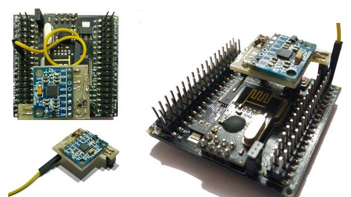 Плата Winkel Board основана на MCU Atmel Atmega128 и Espressif ESP8266