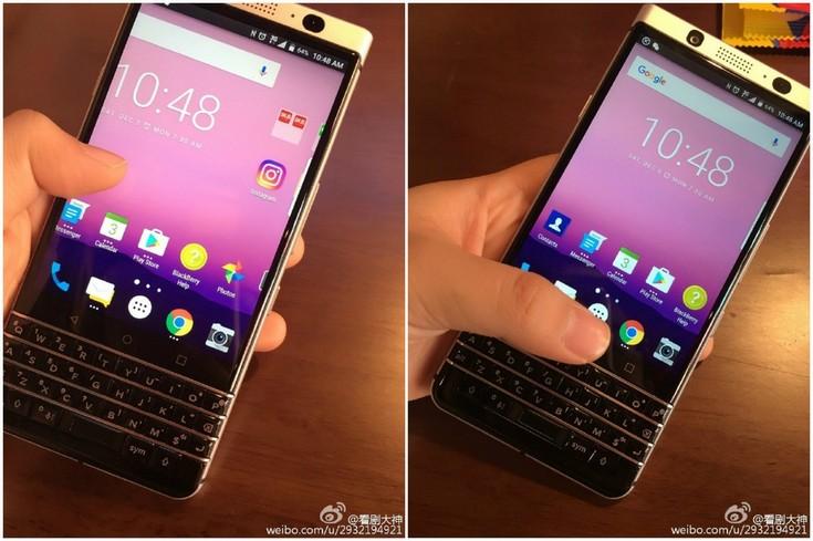Фото дня: смартфон BlackBerry Mercury, оснащённый клавиатурой QWERTY