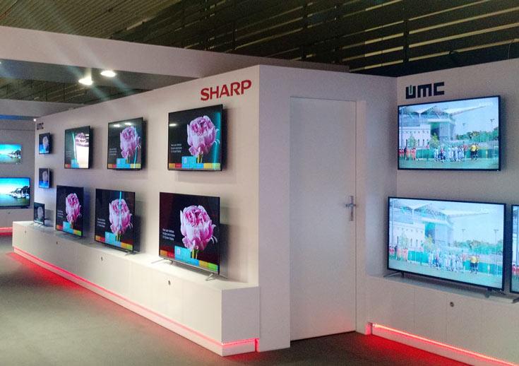 Телевизоры Sharp вернутся в Европу
