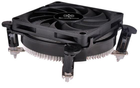 Высота процессорного охладителя SilverStone NT08-115XP составляет 33 мм