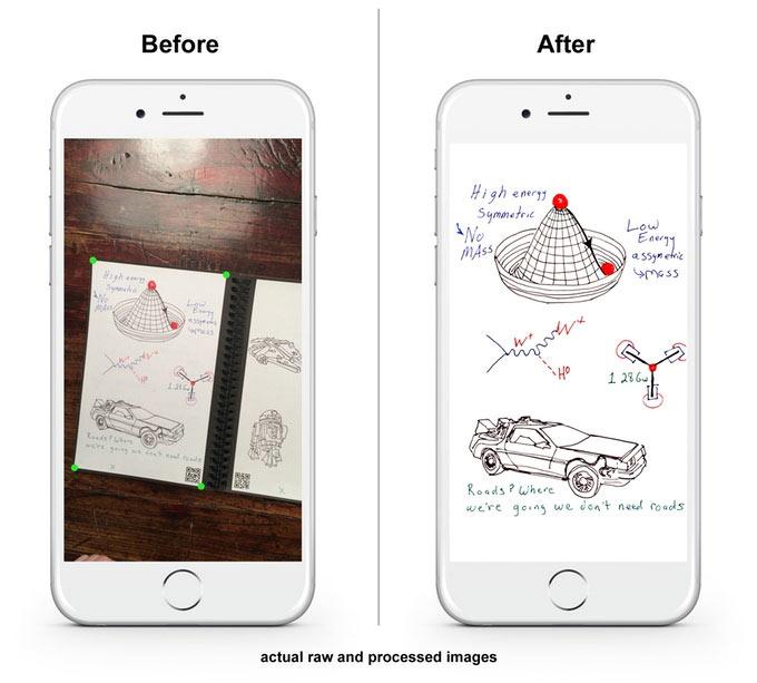 Страницы Rocketbook Everlast изготовлены из водостойкого пластика