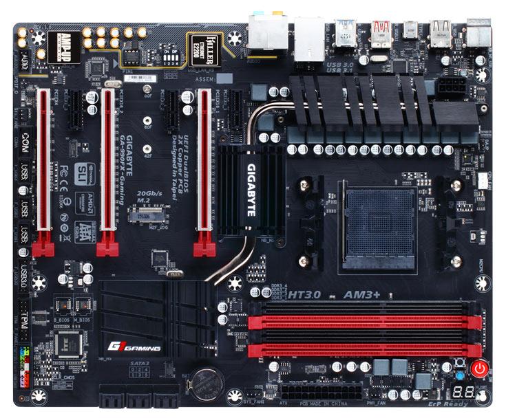Плата Gigabyte 990FX-Gaming