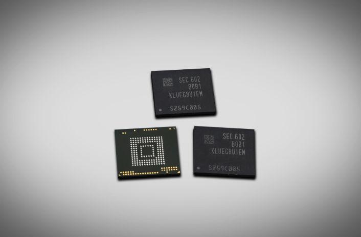 Samsung начала выпуск накопителей объёмом 256 ГБ, которые соответствуют спецификациям UFS 2.0