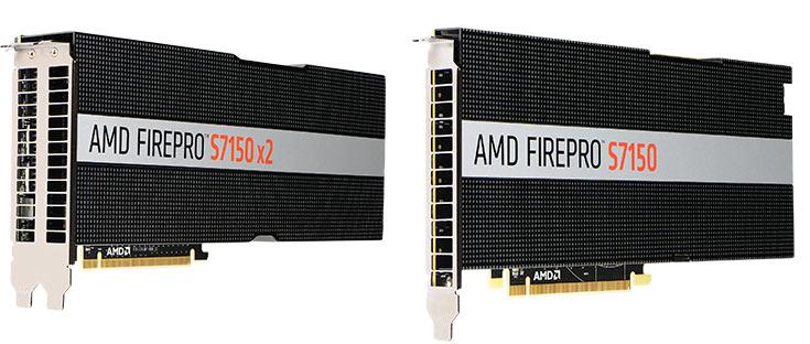 Производитель называет AMD FirePro S7150 и AMD FirePro S7150