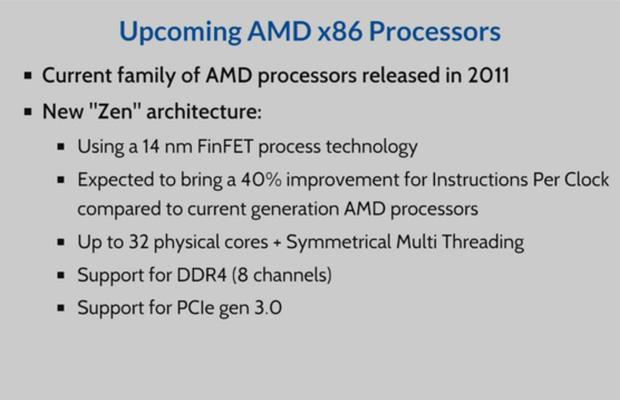 ���������� AMD Zen ����� ������������ ������������� ���������������