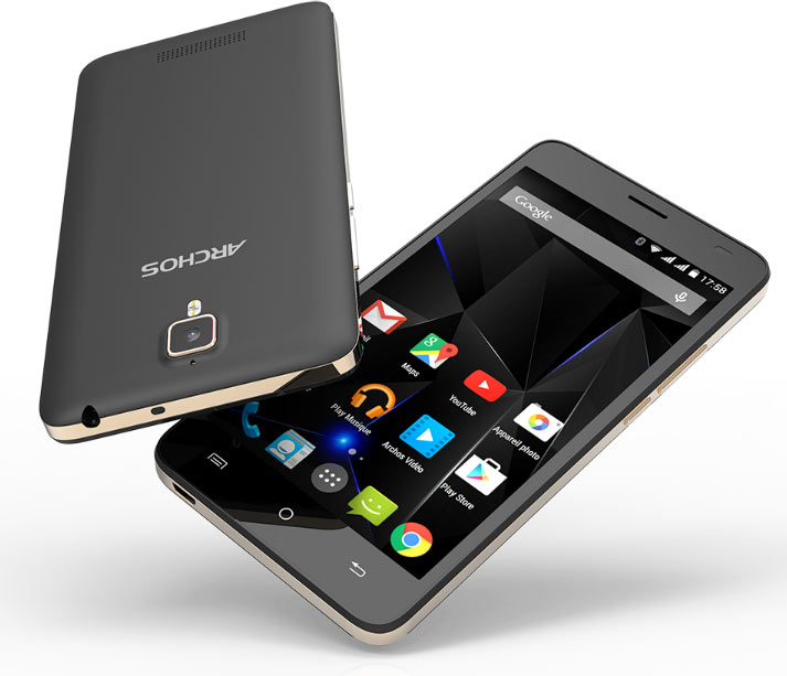 Анонсированы продажи смартфона Archos 50d Oxygen